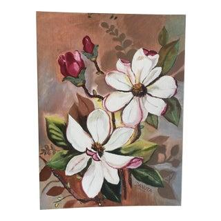 Vintage Magnolias Painting
