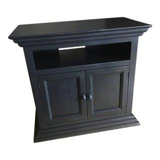 Antique Dark Brown TV Stand