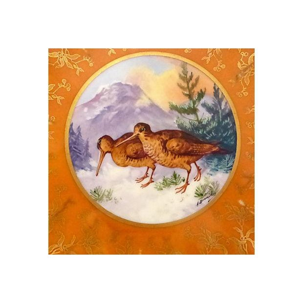 Limoges Hand Painted Gold Decorative Plate - Image 2 of 5