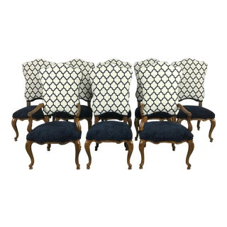 Upholstered Dining Chair Set By Century Furniture