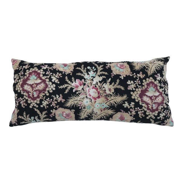 French Victorian Floral Body Pillow Chairish