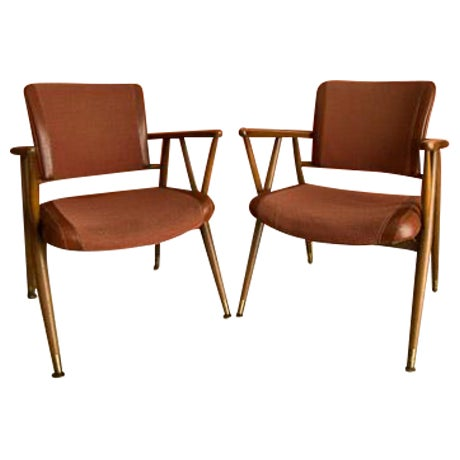 Boling Chair Co. Office Chairs - A Pair - Image 1 of 6