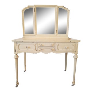 Antique Shabby Chic French Vanity