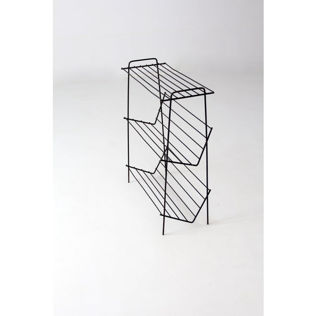 Mid-Century Hairpin Leg Stand - Image 3 of 6