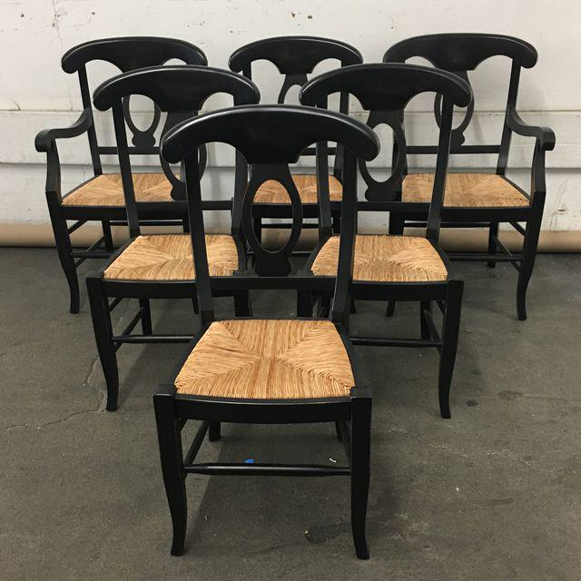 Pottery Barn Napoleon Dining Chairs   Set Of 6   Image 2 Of 9