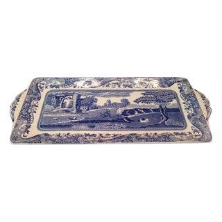 Vintage Spode English Italian Design Tray