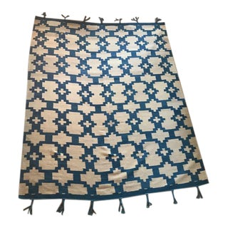 Hyland Rectangle Wool Rug - 7 x 9