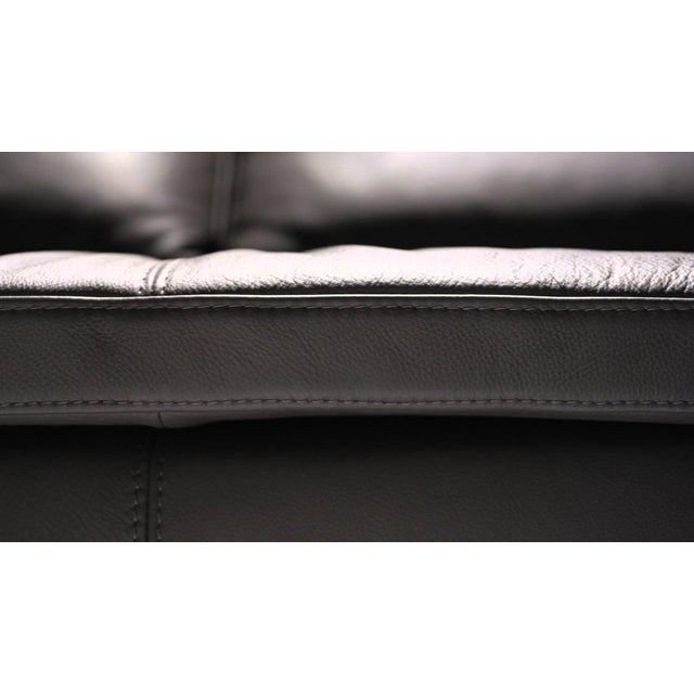 Leather Corner Sofa with Pillows - Image 3 of 7