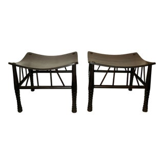 Liberty & Co. Thebes Stools - A Pair