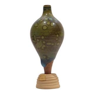 Miniature Terra Spirea Farsta Vase by Wilhelm Kage