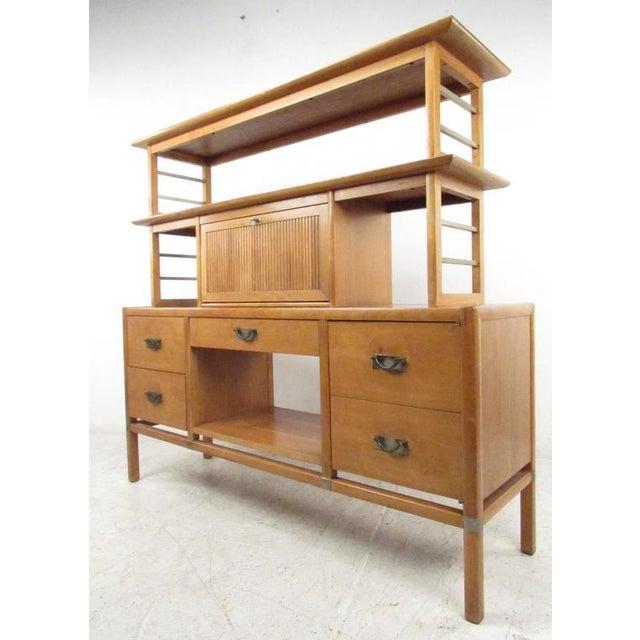 Stiehl Furniture Mid-Century Workstation - Image 2 of 9