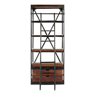 "Arhaus New Colton 34"" Library Book Shelf"