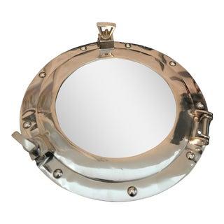 Modern Aluminum Porthole Mirror