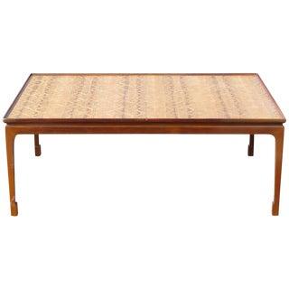 Danish Modern Inlaid Coffee Table