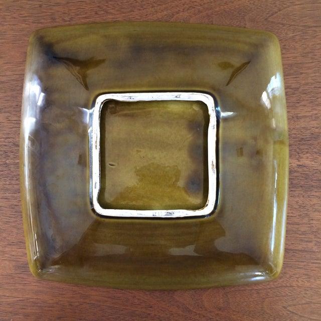Mid-Century Glazed Ceramic Ashtray - Image 6 of 9