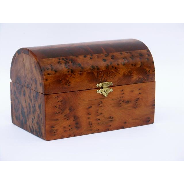 Decorative Juniper Burl Wood Box - Image 3 of 10