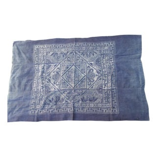Softly Worn Batik Bed Cover