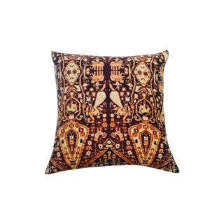 Patterned Velvet Pillow