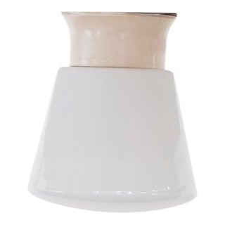 Retro Glass Flush Mount Ceiling Lamp