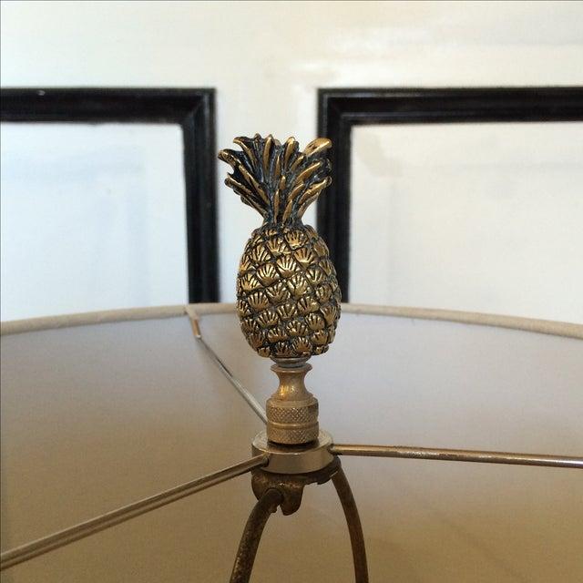 Brass Pineapple Lamp - Image 7 of 7