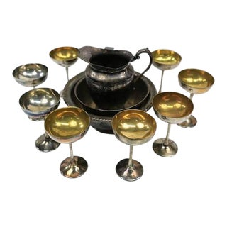1910-1930's Bronze Serving Set - Set of 11