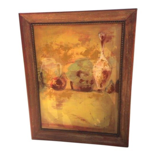 Abstract Expressionist Oil Painting - Image 1 of 5