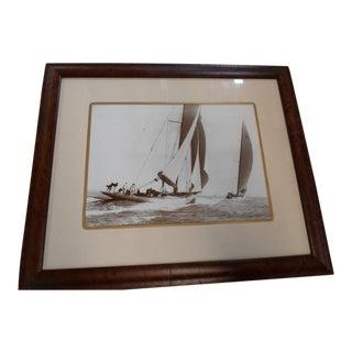 Framed Beken Sailing Print