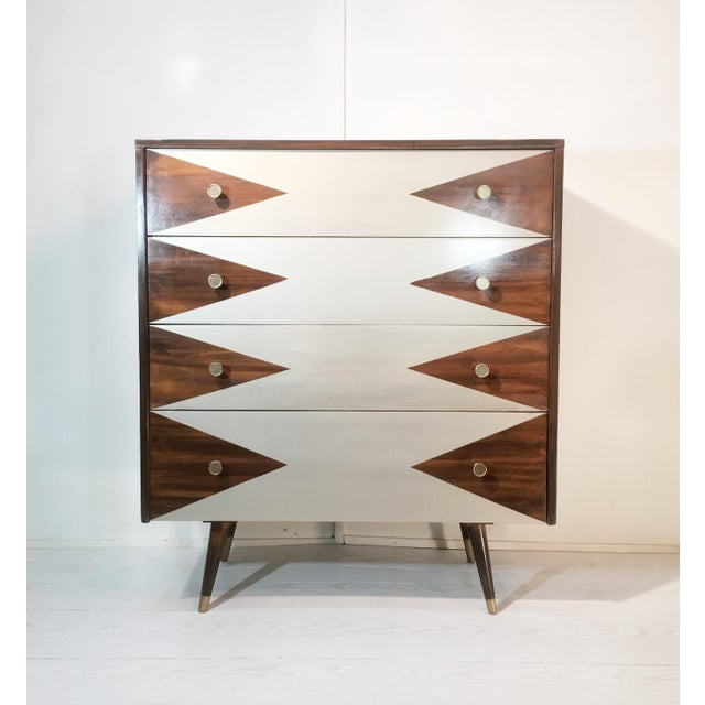 Paul McCobb Mid-Century Modern Geometric Chest - Image 8 of 8