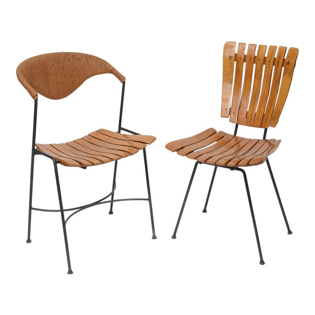 Set of Four Arthur Umanoff Dining Chairs for Raymor - Image 1 of 10