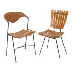 Image of Set of Four Arthur Umanoff Dining Chairs for Raymor