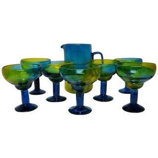 Mexican Margarita Set, Service for 7