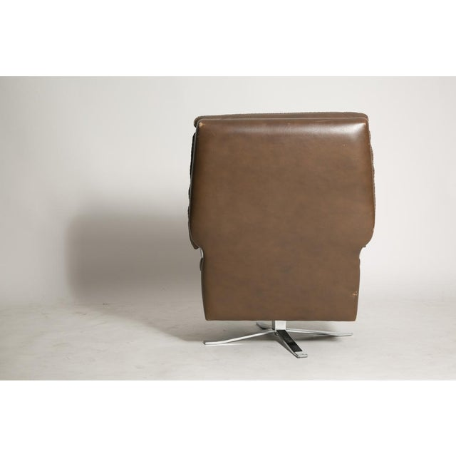Arne Norell Leather Club Chairs - Set of 2 - Image 3 of 9