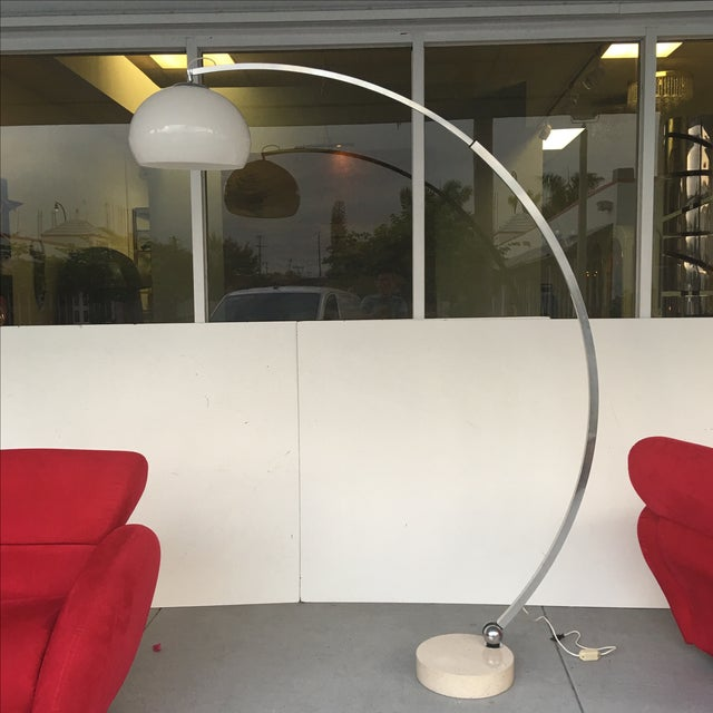1970s Arco Lamp by Guzzini - Image 2 of 7