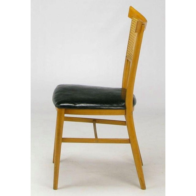Four Paul McCobb Maple Perimeter Group Dining Chairs - Image 4 of 8