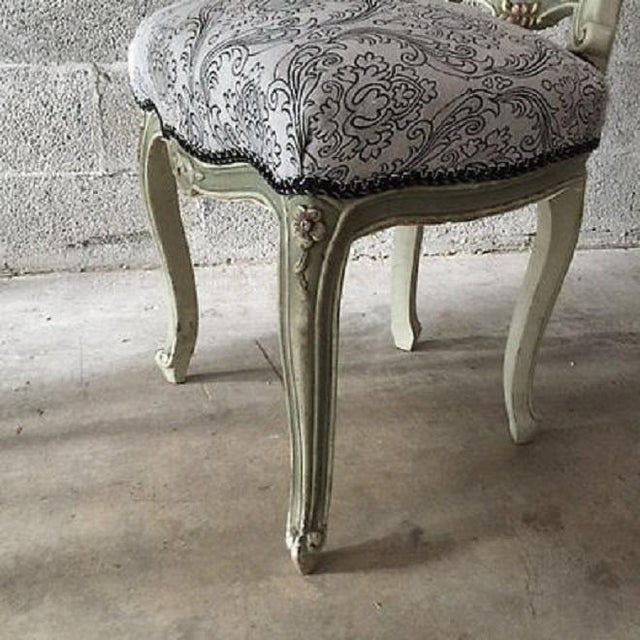 Image of Italian Dining Room Chairs - Pair