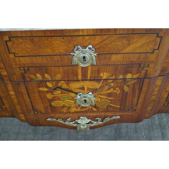 Antique 19th C. French Louis XV Commode Chest - Image 6 of 10