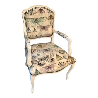 Louis Style Butterfly Accent Chair
