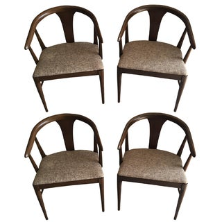 Vintage Mid-Century Modern Chairs - Set of 4