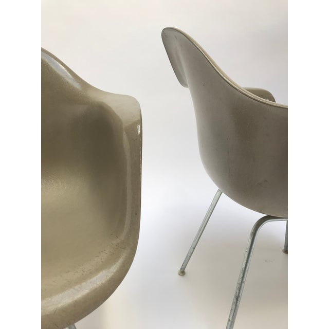 Vintage Eames Armchairs for Herman Miller - a Pair - Image 10 of 11