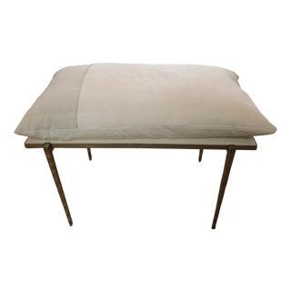 Handmade Steel Pillow Bench