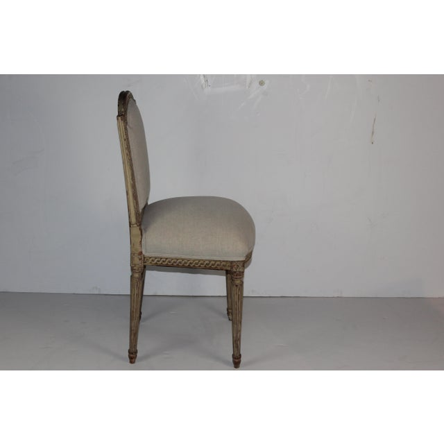 Louis XVI Style Accent Chair - Image 5 of 6