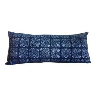 Vintage Indigo Hmong Pillow