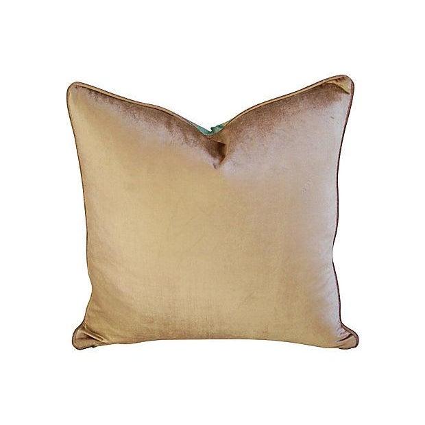 Image of Custom Italian Fortuny Farnese Pillows - A Pair