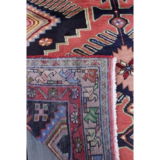 "Image of Semi-Antique Persian Hamadan Rug - 3'9"" x 6'1"""