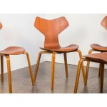 Image of Set of Eight Arne Jacobsen Grand Prix Chairs