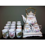 Image of Franklin Mint Japanese Style Porcelain Tea Set