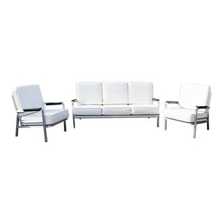 Rehab Vintage Custom Lobby Sofa & Armchair Set - Set of 3