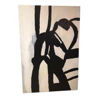 """Minimalist """"Life Lines"""" Painting"""