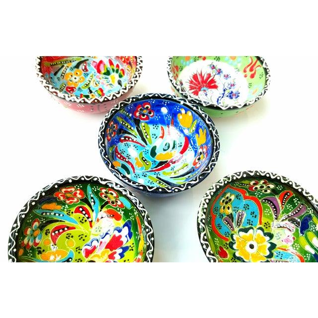 Turkish Tile Bowls - Set of 5 - Image 4 of 5