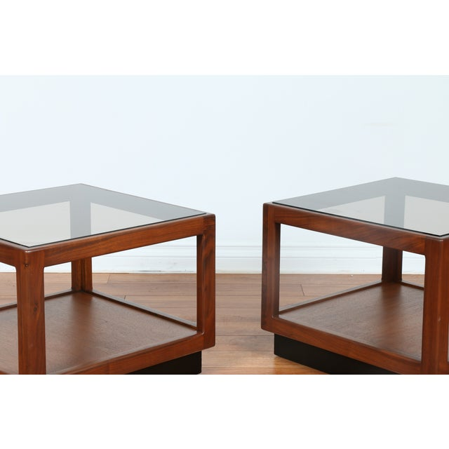 Brown & Saltman Side Tables- A Pair - Image 5 of 10
